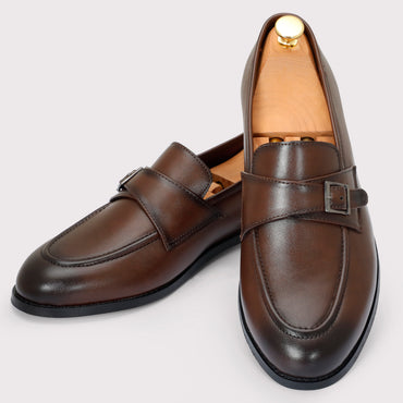 Macan Single Monks - Brown - Dapperfeet
