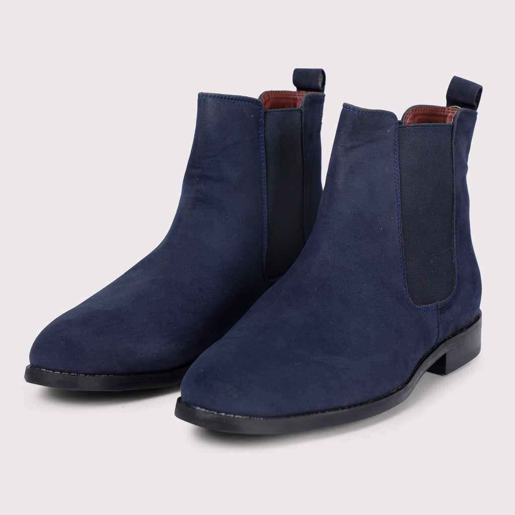 Roy Chelsea Boots - Navy Blue