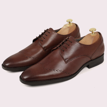 Rossy WingBrogued Derby - Brown