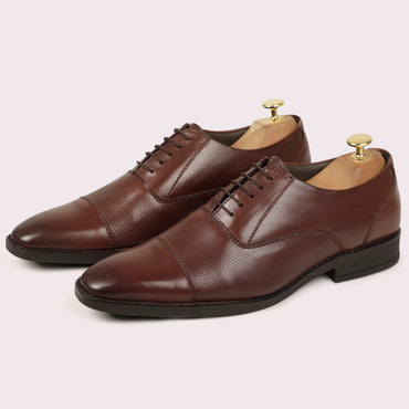 Specter Oxfords - Brown