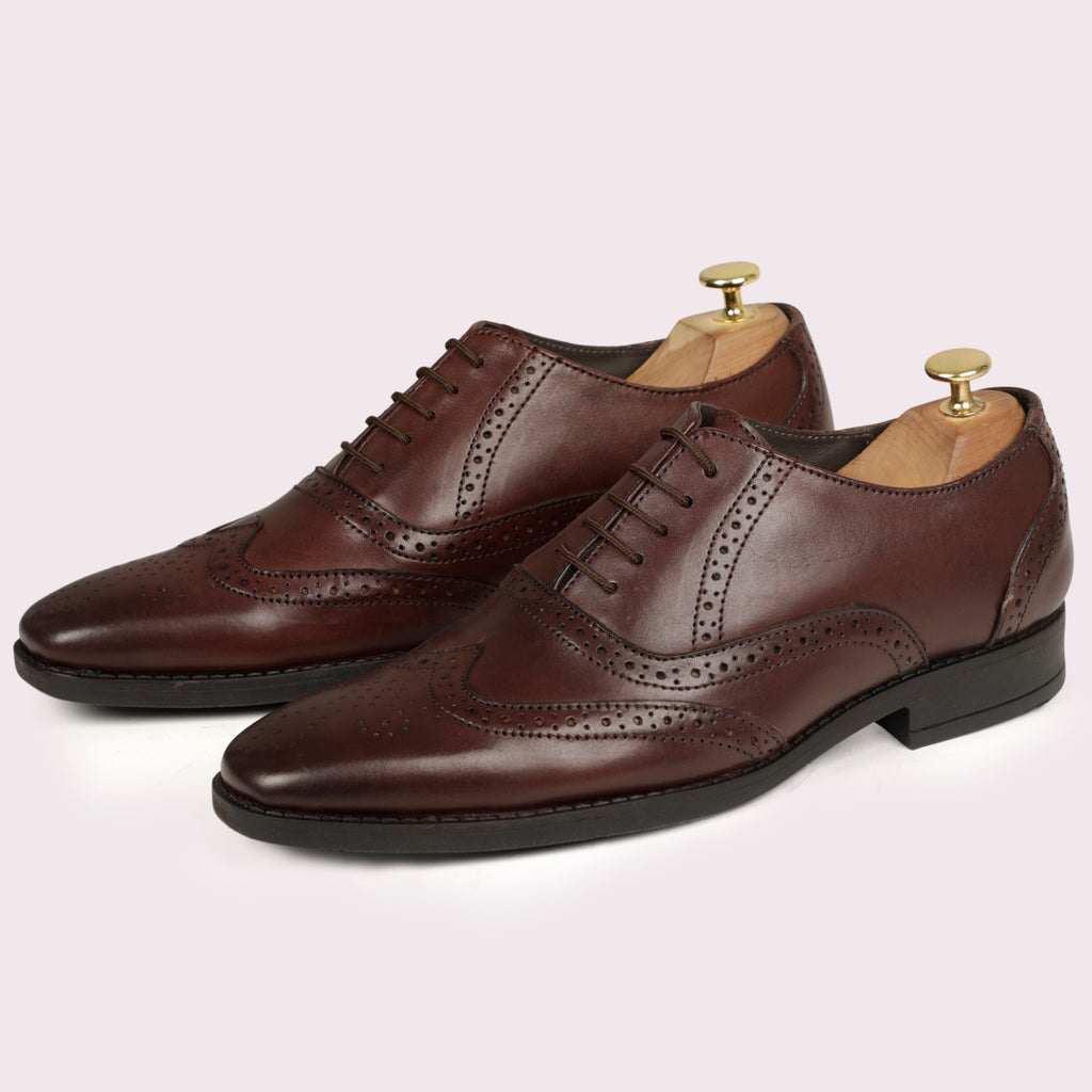 Harvey Brogues - Brown