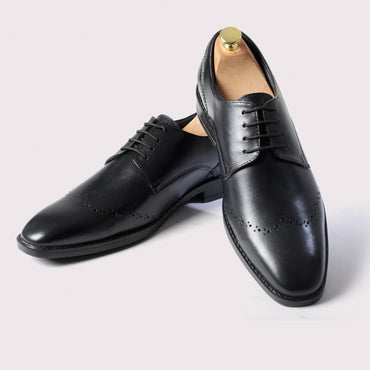 Rossy WingBrogued Derby - Black