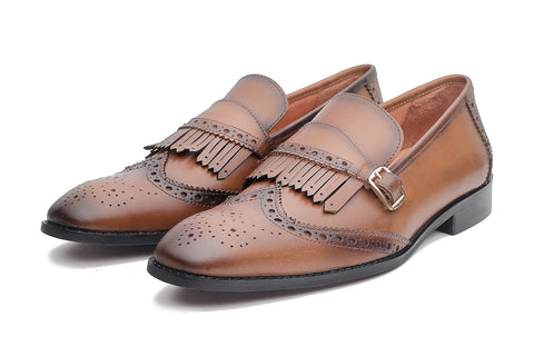 Mayfair Loafers - Tan - Dapperfeet