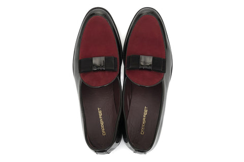 Cashmere Patent SlipOn - Oxblood - Dapperfeet