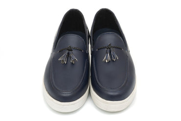Elijah Tassel Slip-on - Midnight Blue - Dapperfeet