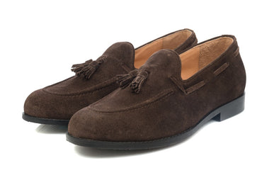 Hampton Tassel Loafers - Brown - Dapperfeet
