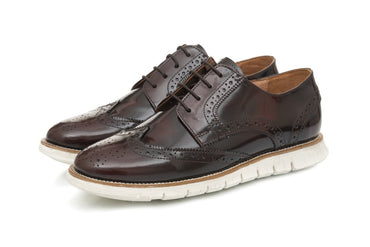 Lorenzo Brogues - Oxblood - Dapperfeet
