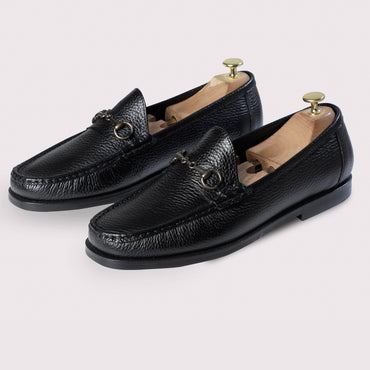 Stanley Horsebit Mocassins - Black