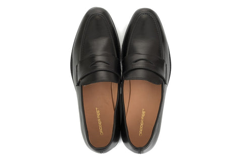 Penny Loafer - Black - Dapperfeet