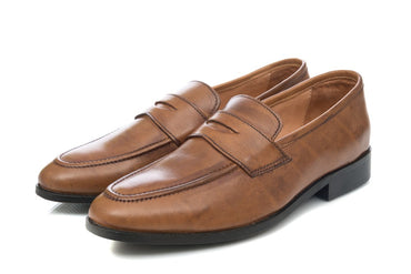 Penny Loafer - Tan - Dapperfeet