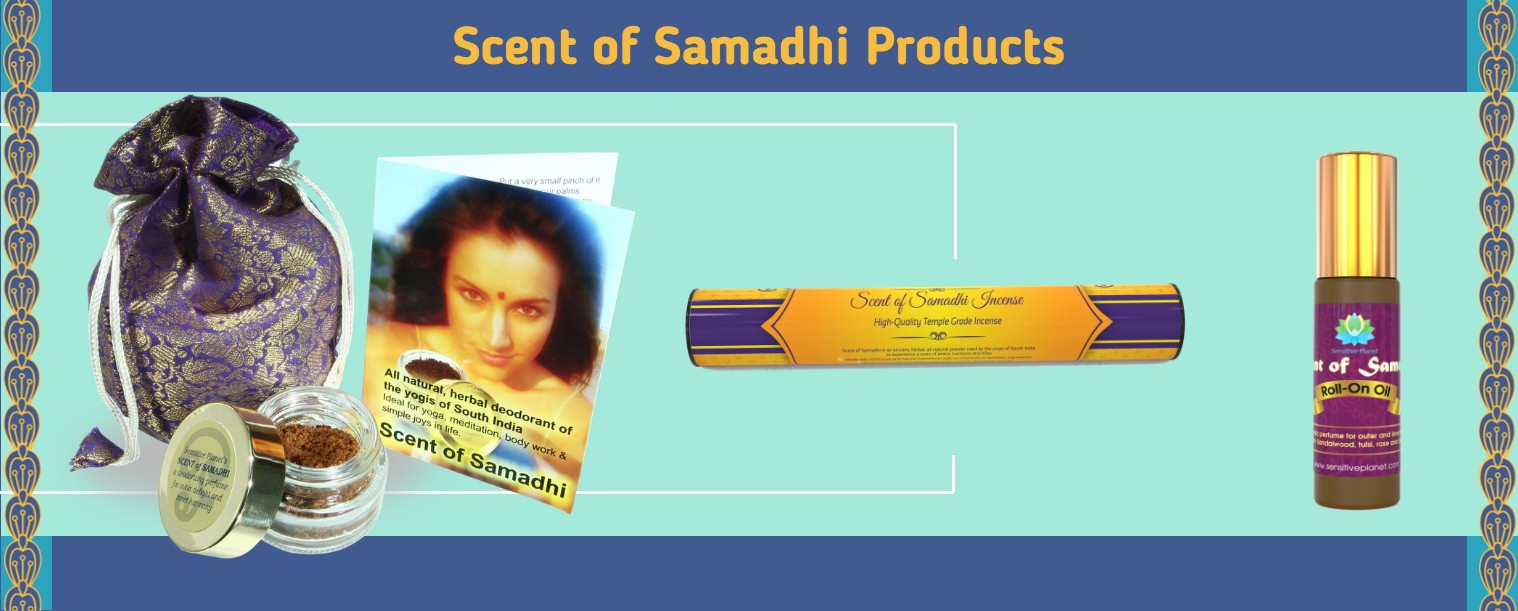 scent of samadhi products