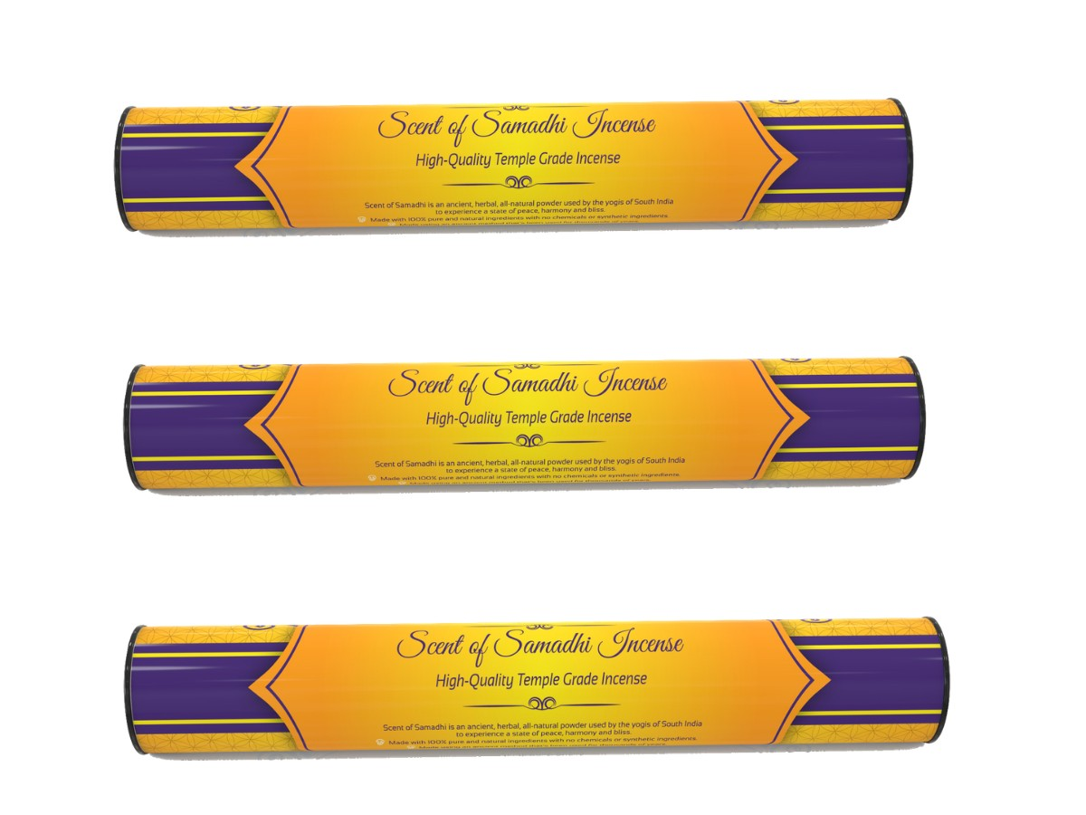 3 units Scent of Samadhi- INCENSE