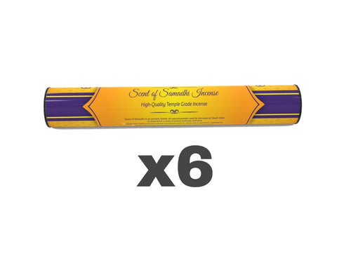 6 units Scent of Samadhi- INCENSE