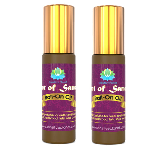 scent of samadhi roll-on oil 2 units
