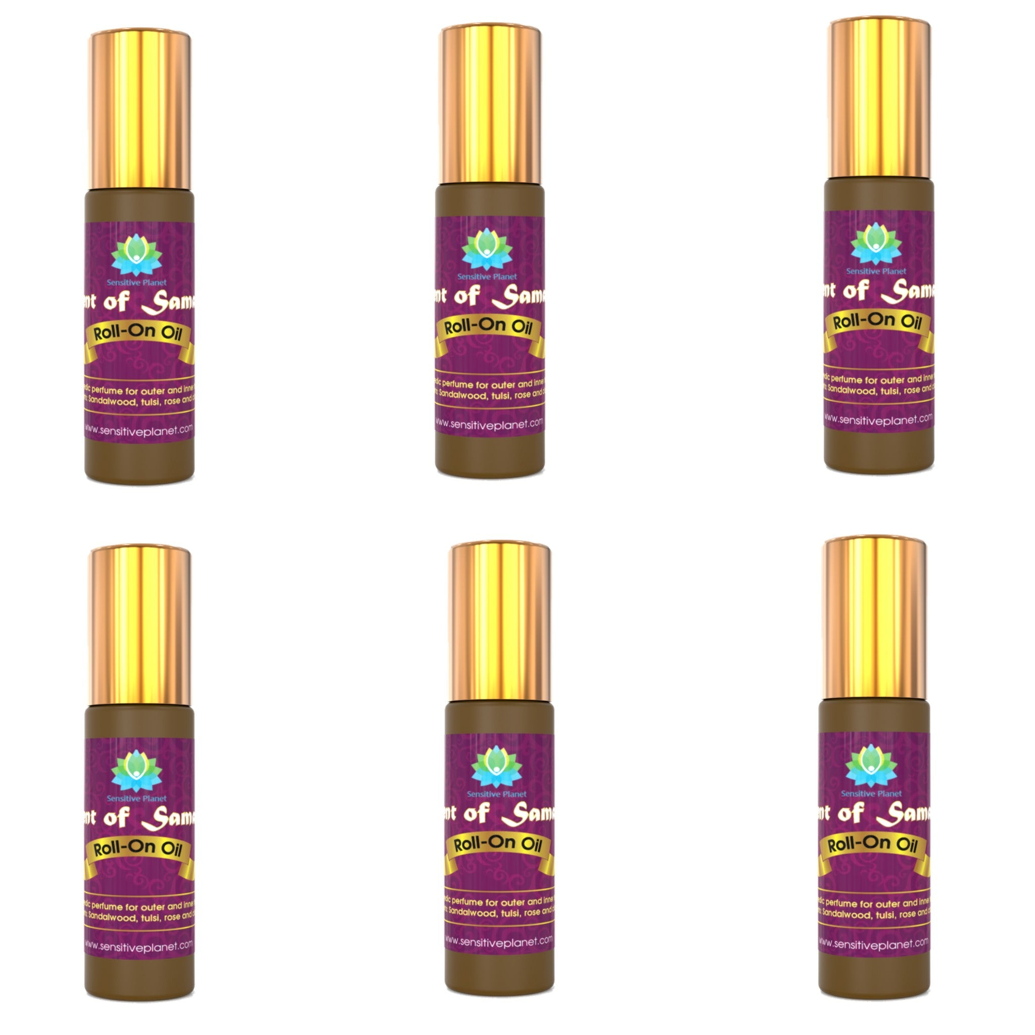 scent of samadhi roll-on oil 6 units