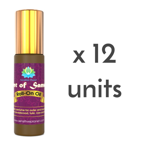 scent of samadhi roll-on oil 12 units