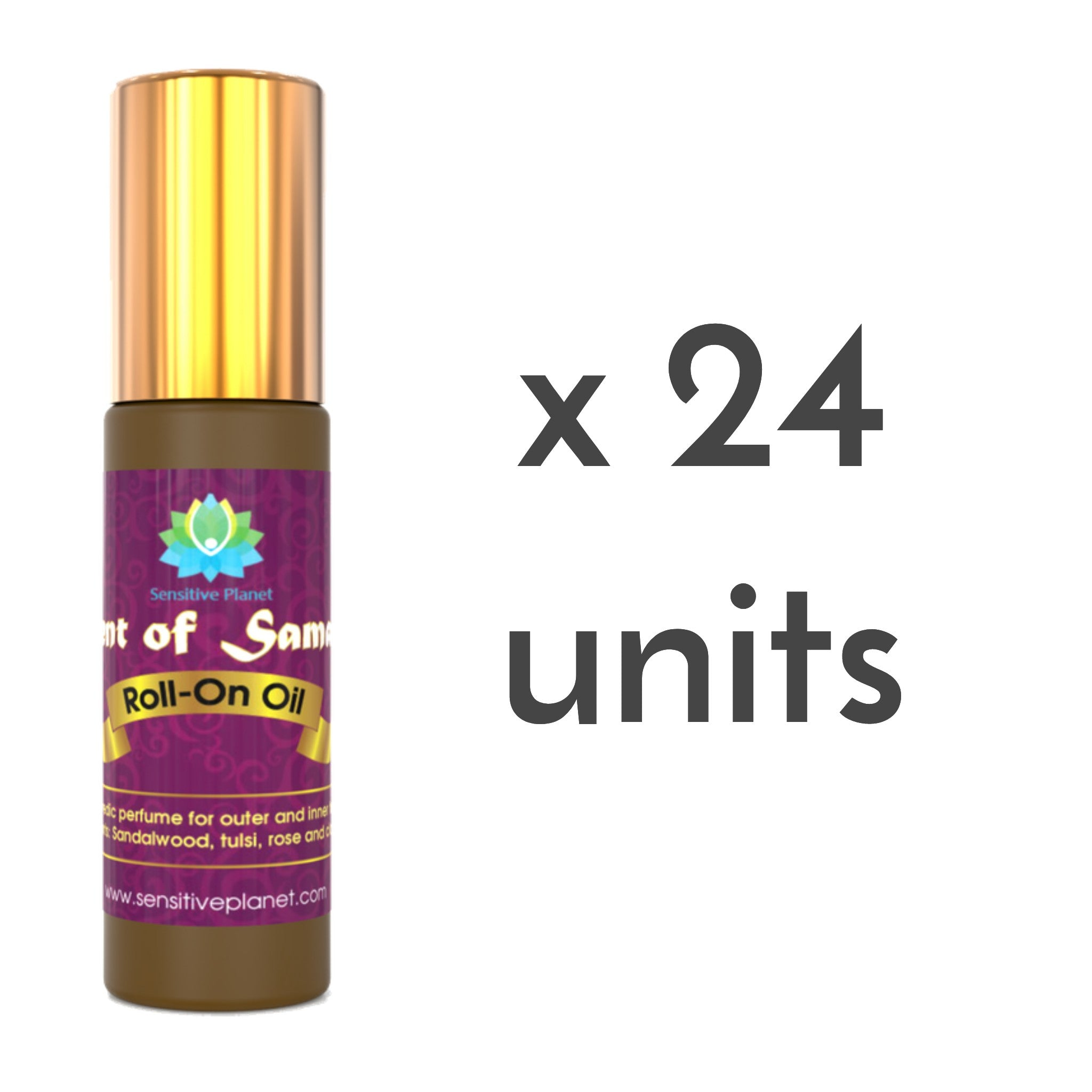 scent of samadhi roll-on oil 24 units