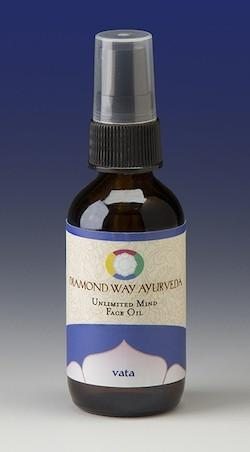 Vata-Balancing Face Massage Oil 2 oz