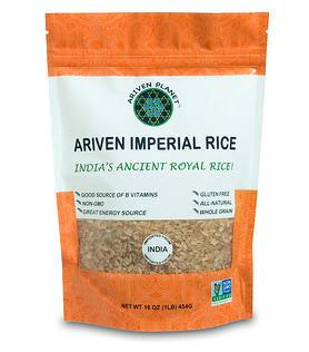 (12 lbs) Ariven Imperial Rice: The Royal Heirloom Rice of India