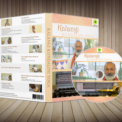 (5 DVDS)-Wholesale- Kalangi Kundalini Yoga DVD by Nandhiji