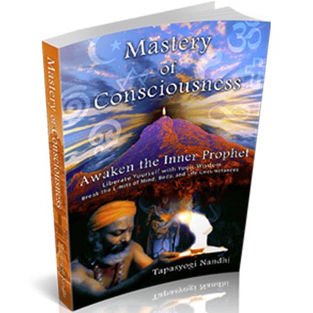 Mastery of Consciousness Book: Handsigned by Nandhiji + Ebook