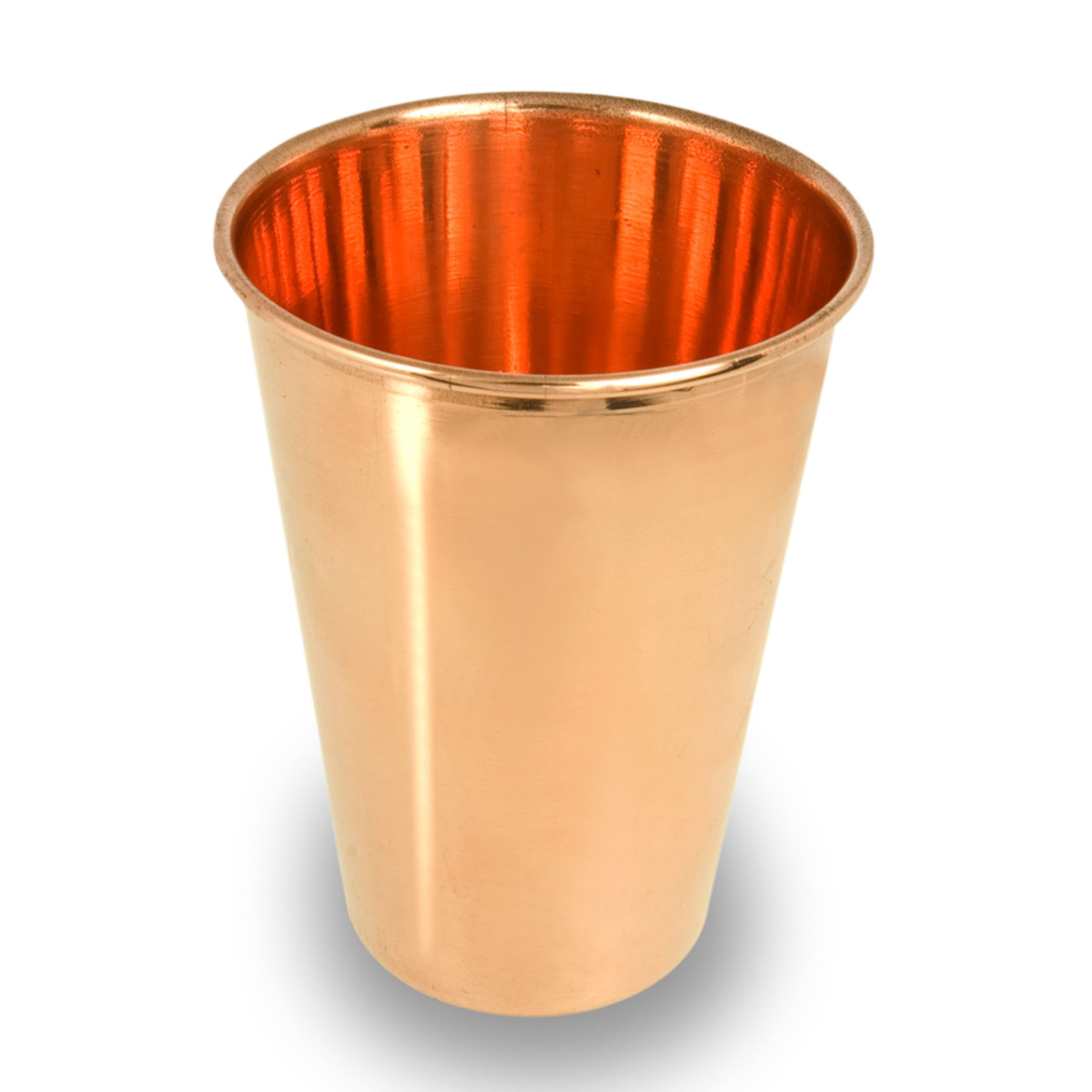 Ayurvedic pure copper drinking cup