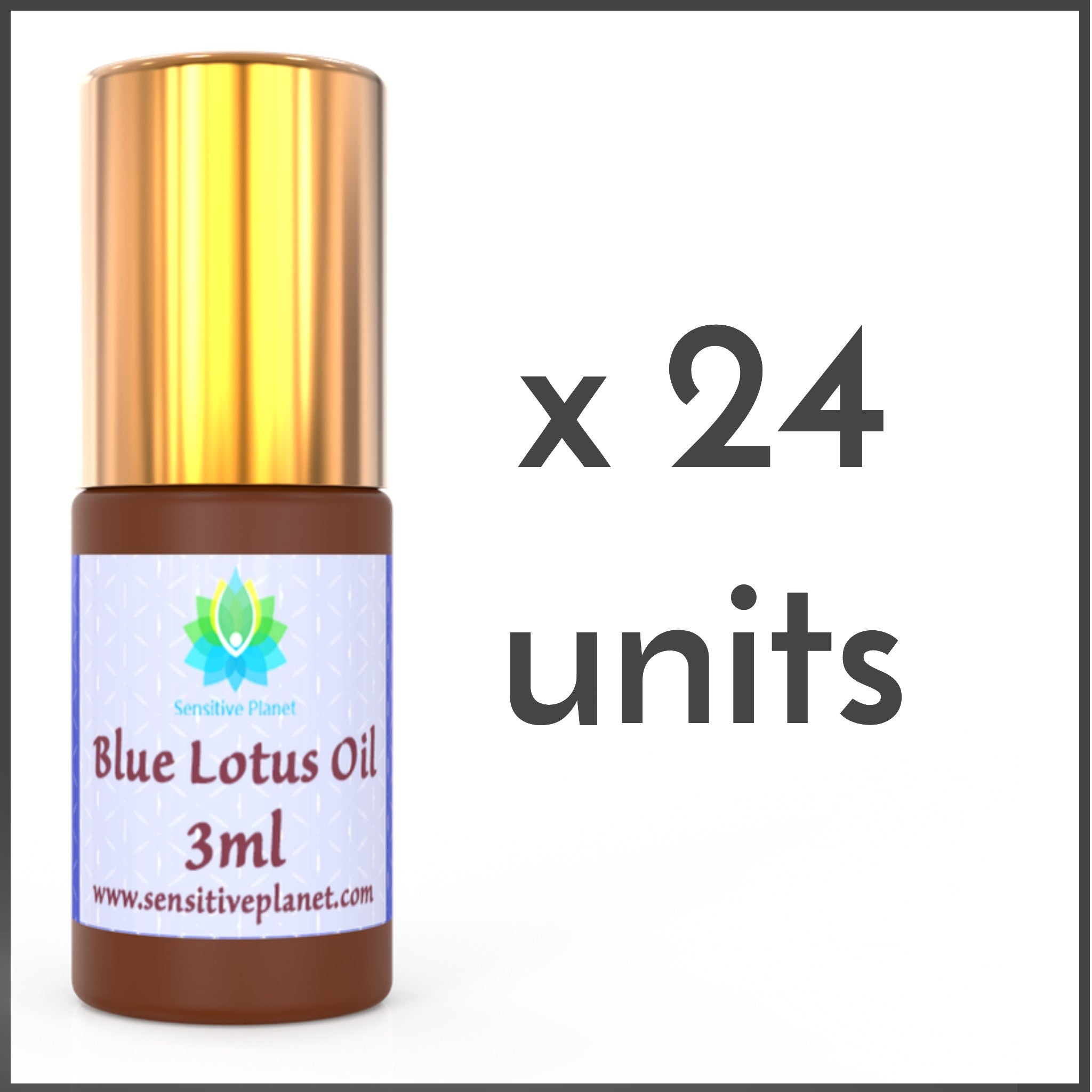 (24 UNITS) Wholesale-  3ml Blue Lotus Oil @ $14/unit
