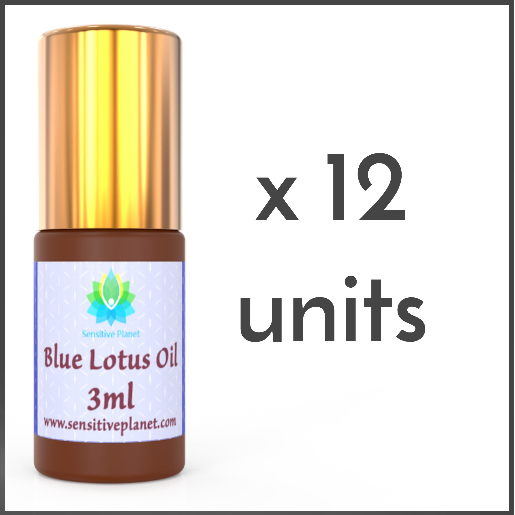 (12 UNITS) Wholesale-  3ml Blue Lotus Oil @ $17/unit