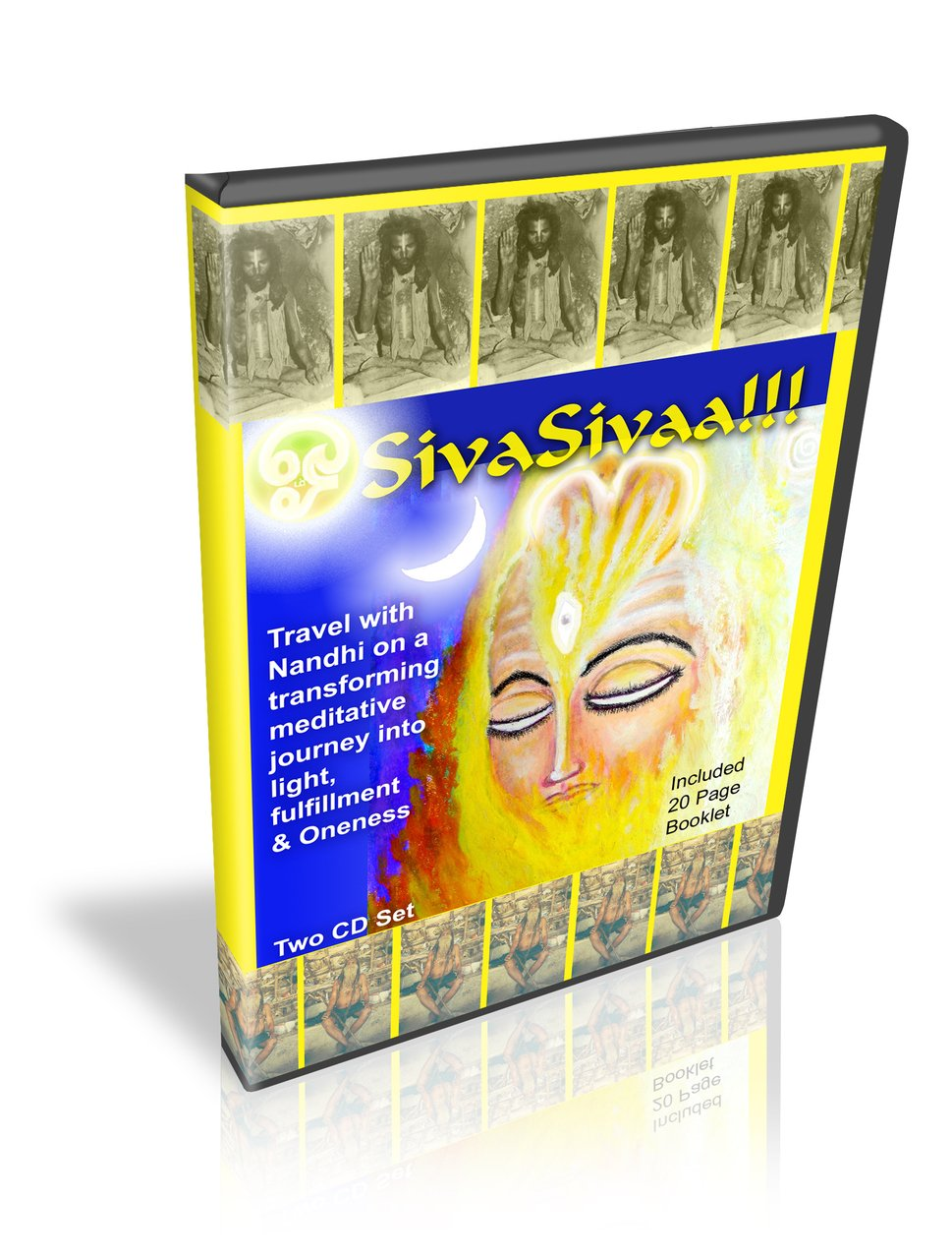 (10 CDS)-Wholesale- SivaSivaa-Siddha Guided Chakra Meditation with Nandhiji