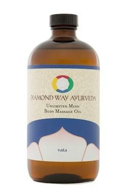 Vata-Balancing Body Massage Oil 16 oz