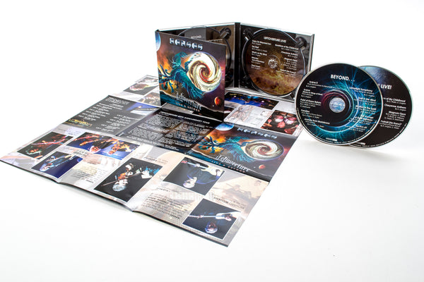 KANSAS - Leftoverture Live & Beyond - (2) CD Digipak
