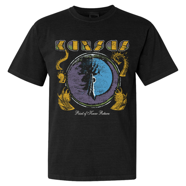 KANSAS - Vintage Point Of Know Return T-Shirt
