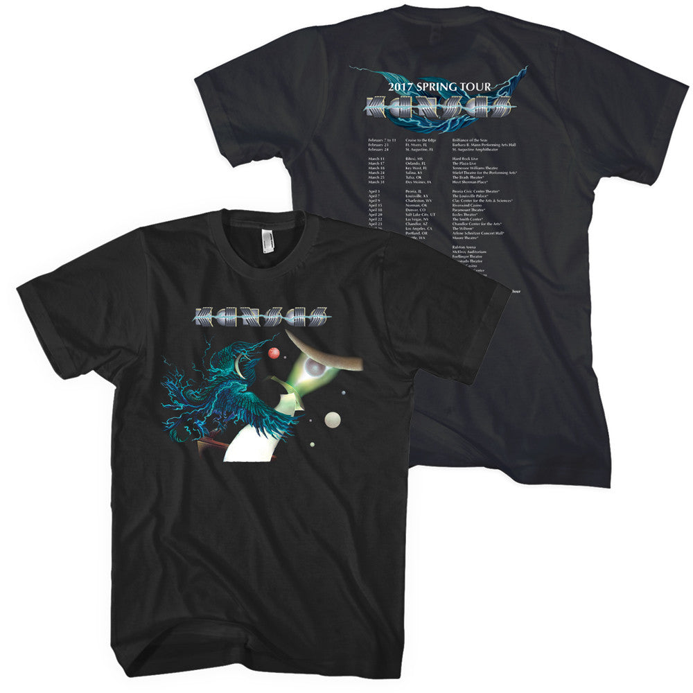 KANSAS - 2017 Spring Tour T-Shirt