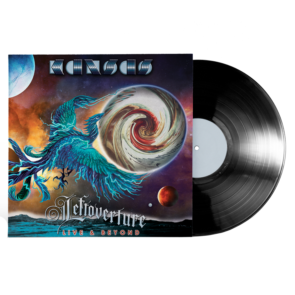 KANSAS - Leftoverture Live & Beyond - Black Vinyl + CD