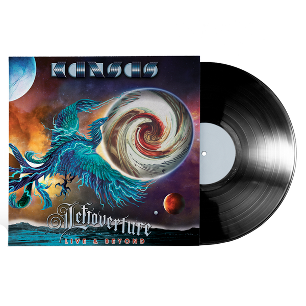 Leftoverture Live & Beyond - Black Vinyl + CD