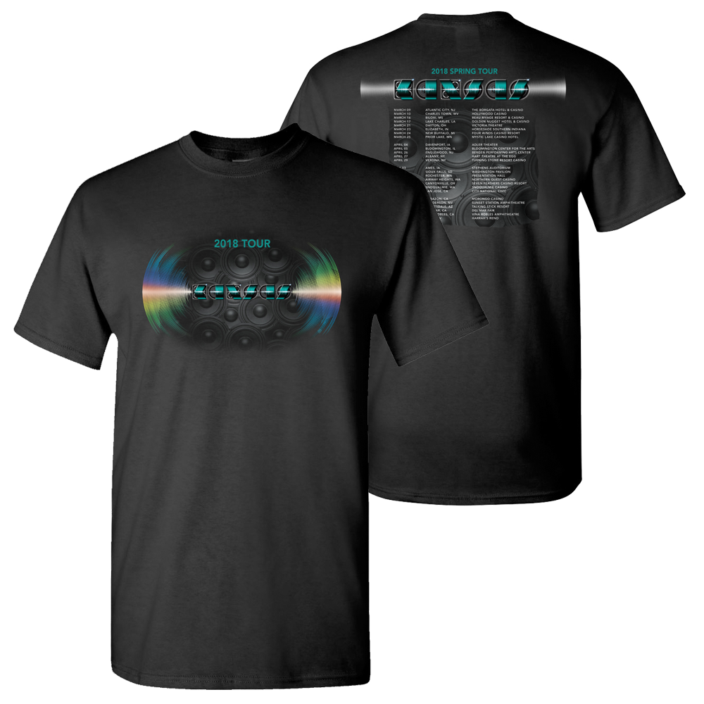 KANSAS - 2018 Winter Spring Tour T-Shirt