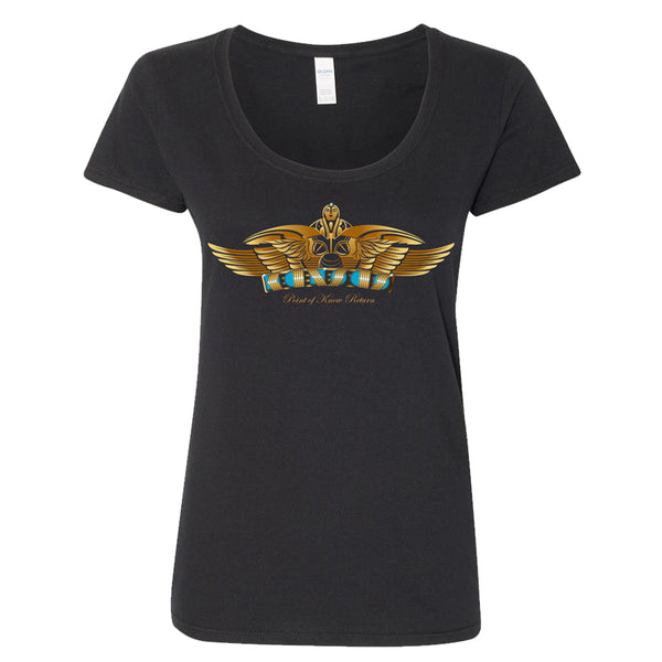 Point Of Know Return Womens T-Shirt - Black