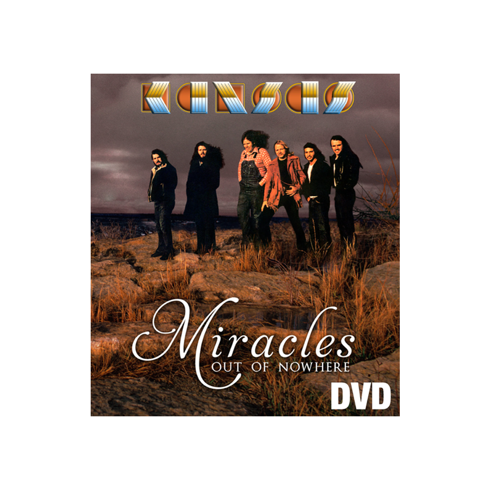 KANSAS - Miracles Out of Nowhere DVD