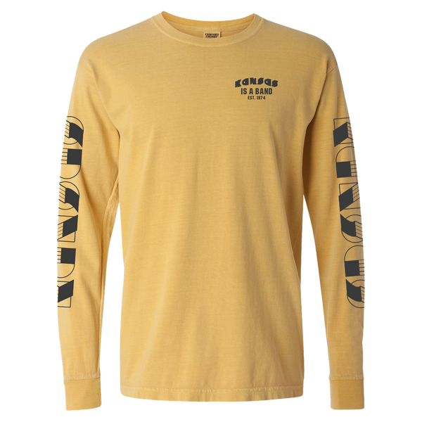 Kansas Is A Band Long Sleeve T-Shirt