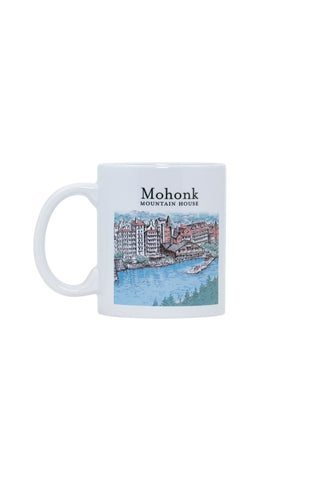 Mohonk Watercolor Mug