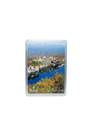 300 Piece Puzzle--Mohonk in the Fall