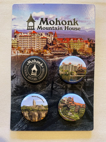 Set of 4 Mohonk Buttons