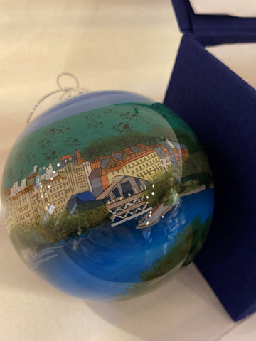 Hand Painted Mohonk Mountain House Ornament