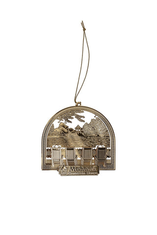 Rocking Chair Scene Ornament