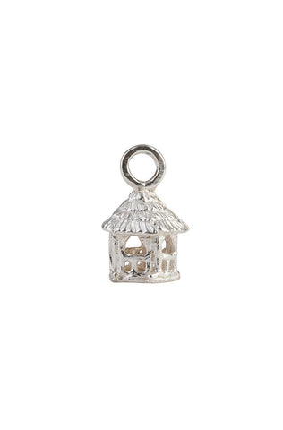 Sterling Summerhouse Charm, 5-Sided