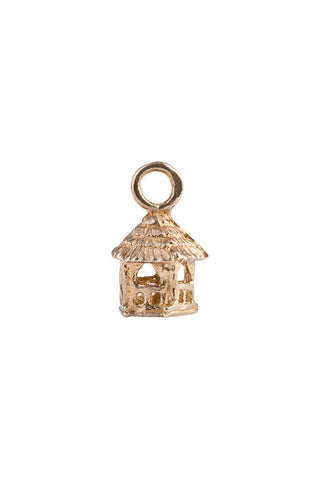 14k Summerhouse Charm, 5-Sided