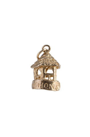 "14k Summerhouse Charm, 5-Sided with ""Mohonk"""