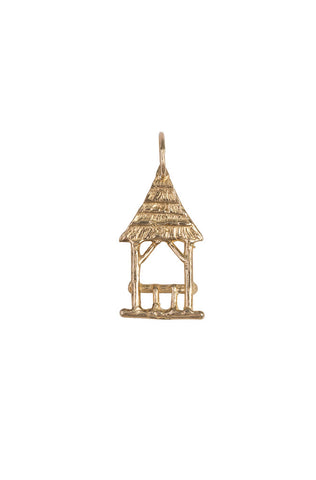14k Summerhouse Charm, Large
