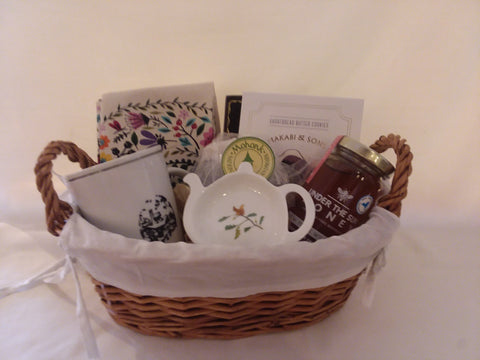 The Tea Lovers Gift Basket