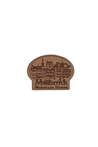 Engraved Wooden Pin
